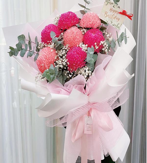 Bó hoa tươi - món quà ngọt ngào đủ đầy sự yêu thương