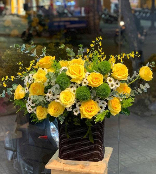 Hộp hoa sinh nhật đẹp