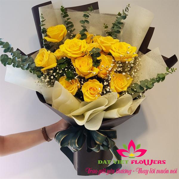 Bó hoa hồng chúc mừng 8-3