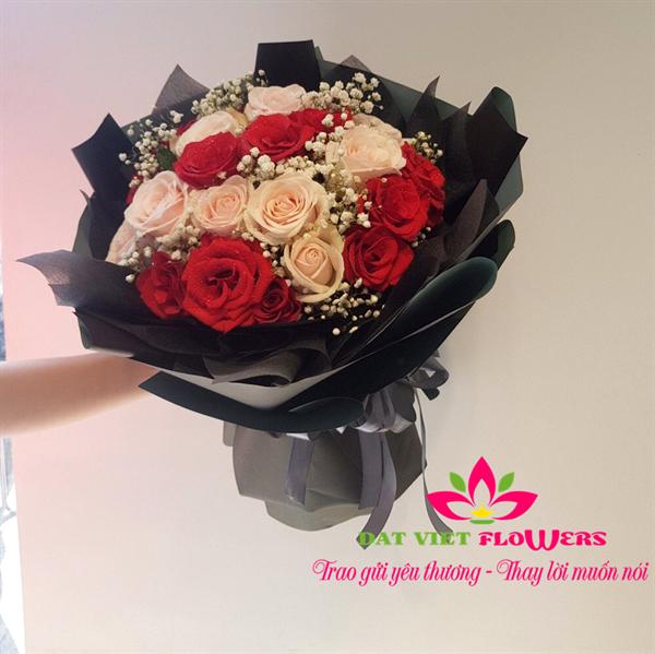 Hoa đẹp tặng người ấy dịp 14-2