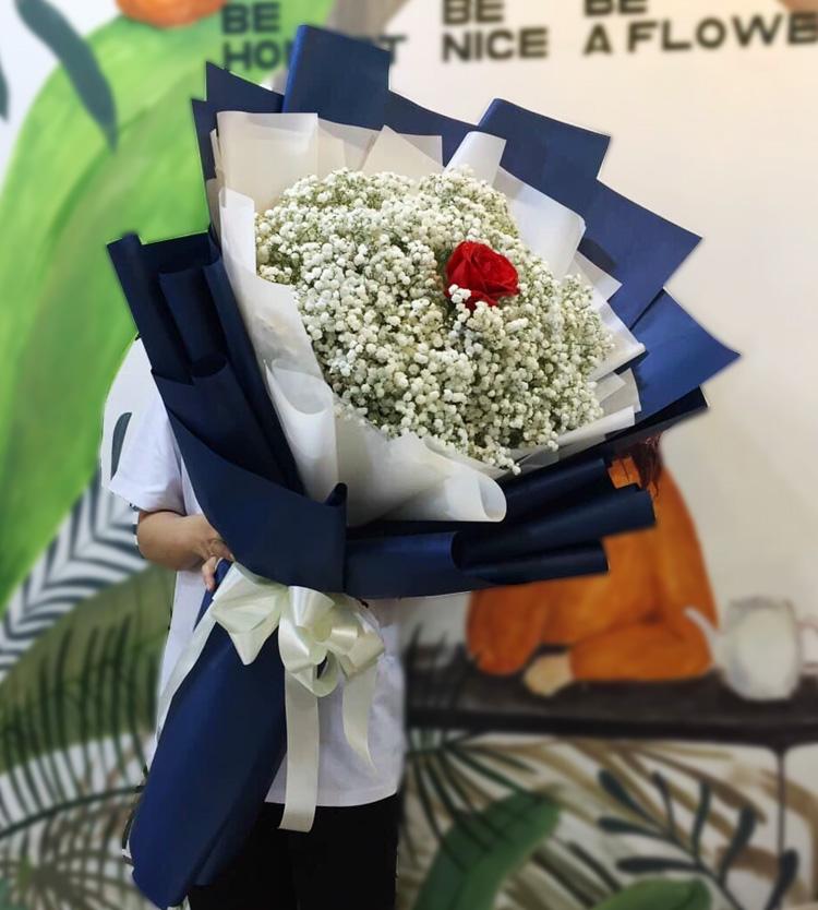 Bó hoa tặng sinh nhật đẹp, nhẹ nhàng