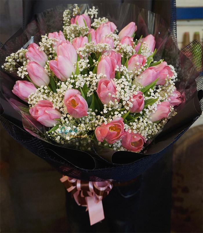 Bó hoa tulip đẹp