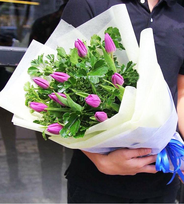 Bó hoa tulip đẹp tặng người yêu