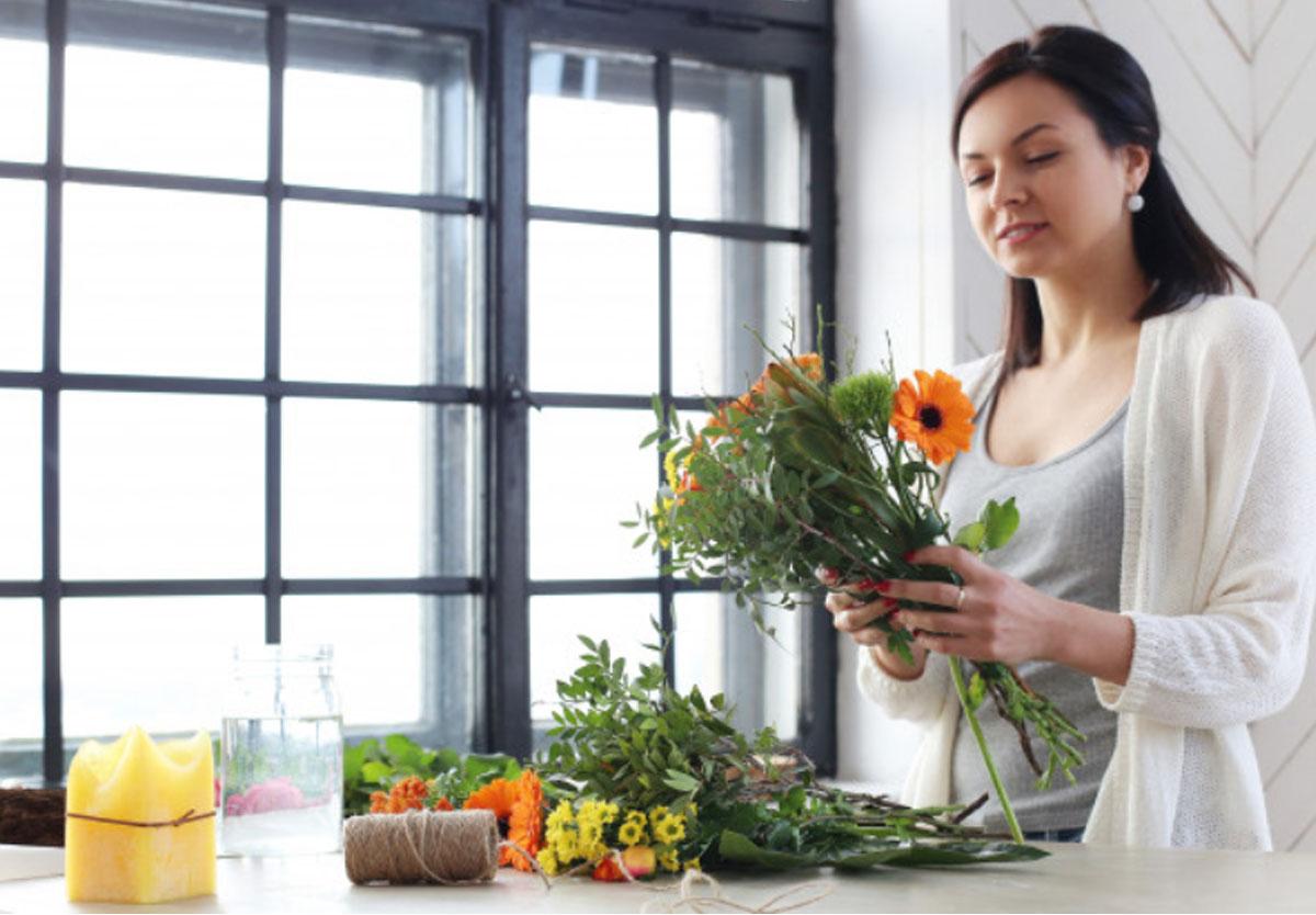 Dạy cắm hoa chuyên nghiệp