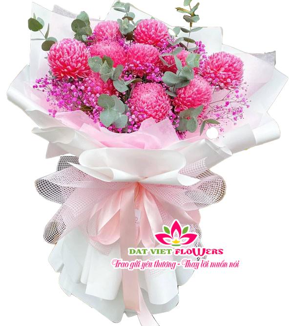 Bó hoa chúc mừng sinh nhật mẹ