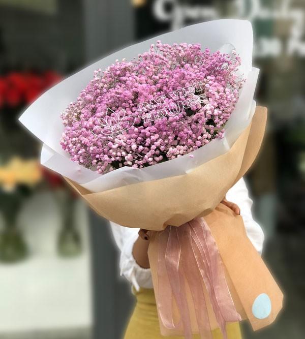 Ý nghĩa của hoa baby tím