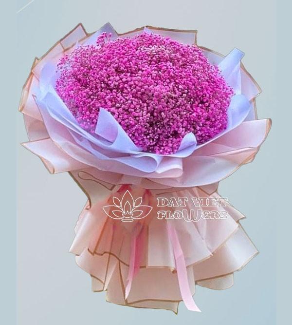 Ý nghĩa hoa baby hồng