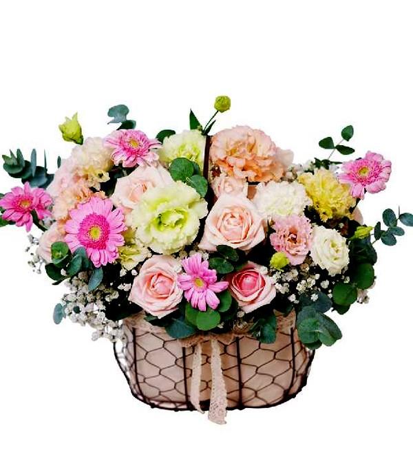 Giỏ hoa chúc mừng sinh nhật vợ