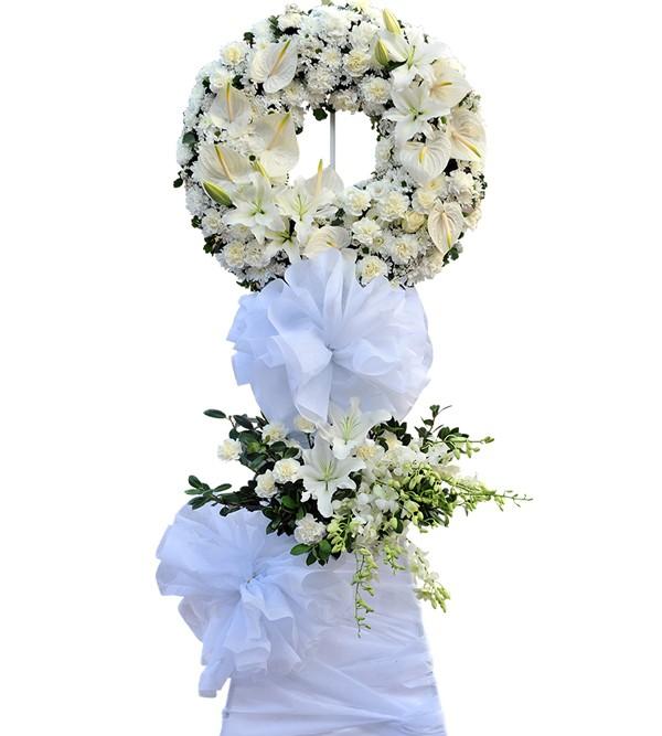 Hoa viếng đám tang hoa lily