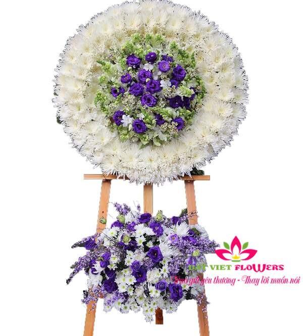 Hoa chia buồn sang trọng