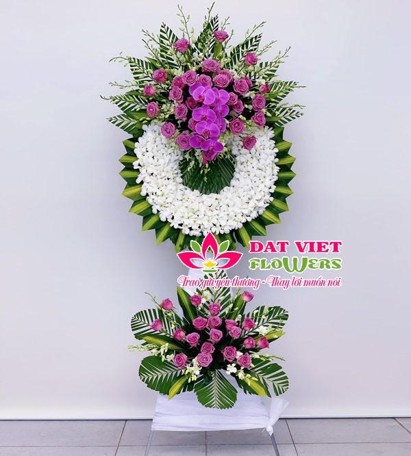 Hoa viếng đám ma hoa lan