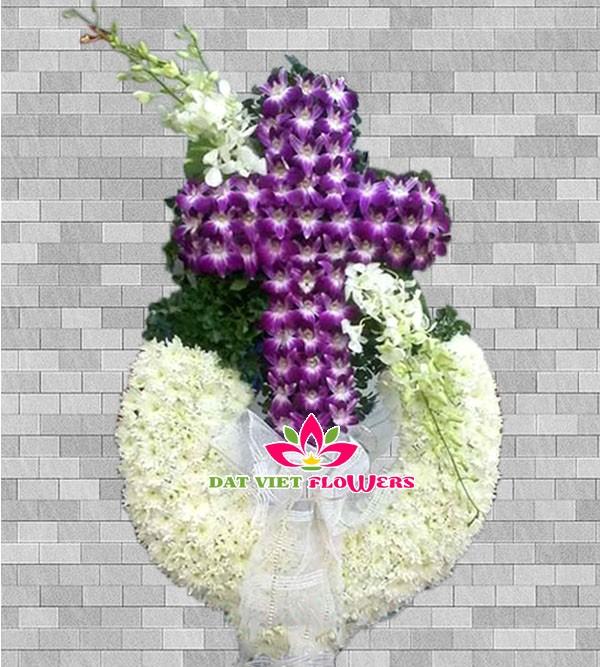 Hoa đám tang công giáo